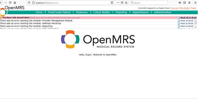 openmrs UI
