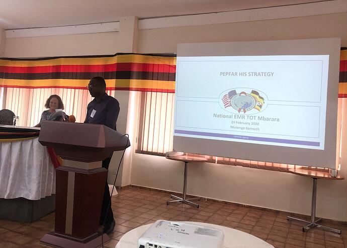 PEPFAR Strategy for EMR