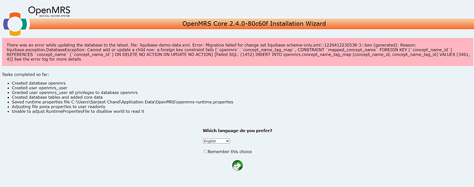error runtime prop file