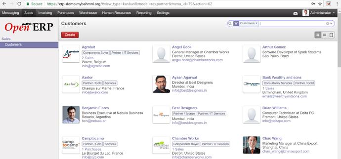 Bhamni erp_demo screenshot_sales