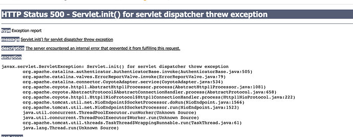Report_servlet_error