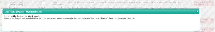 metadatasharing_error
