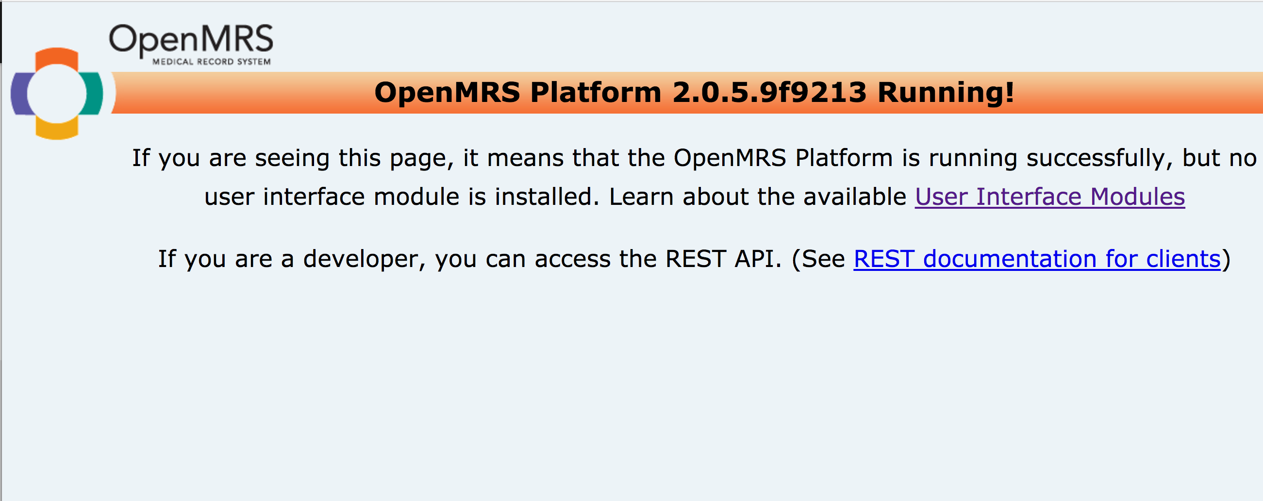 Hibernate error while installing OpenMRS - Ask OpenMRS