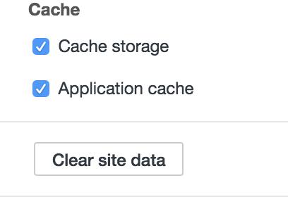 site cache