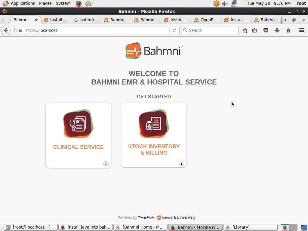 Bahmni installation failure in centos - OpenMRS Talk