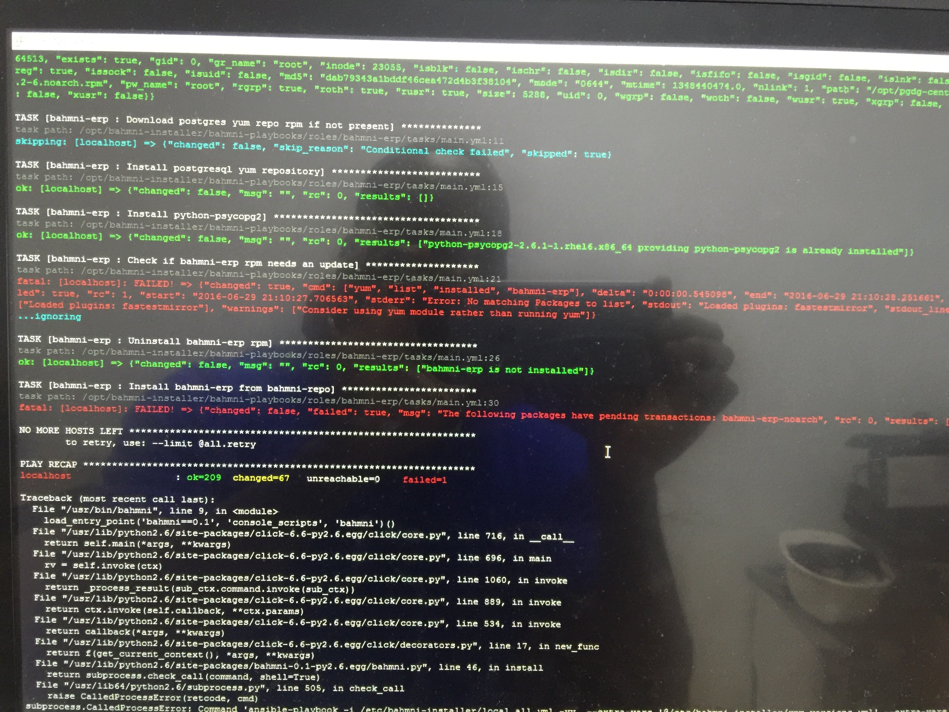 Unable to install Bahmni - Bahmni - OpenMRS Talk