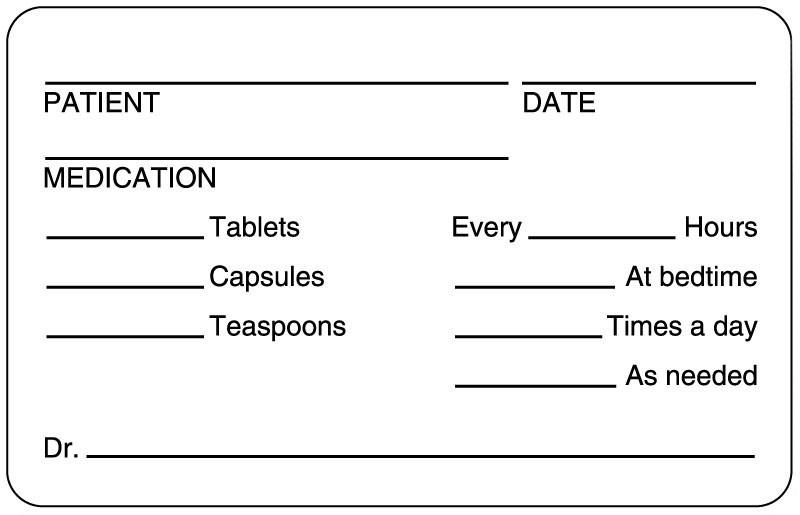Does Bahmni Have Medication Instruction Label Printing Form